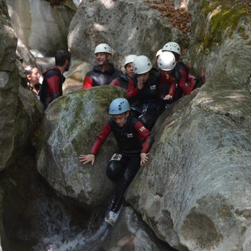 Canyoning - Canyon de Balme, partie Ludique